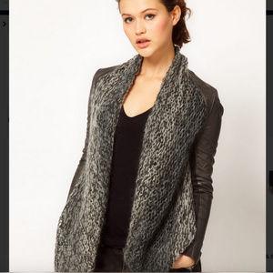 Muubaa Galatti Knitted Leather Waterfall Jacket4